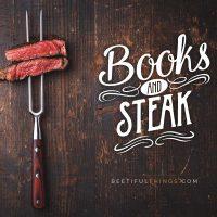 Books and Steak