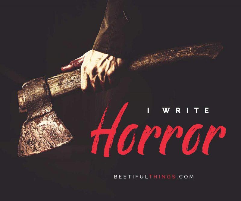 how to write suspense horror