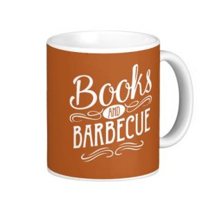 Books and Barbecue Mug