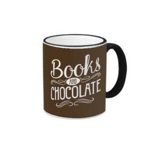 Books and Chocolate Mug