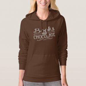 Books and Chocolate (women's white design)