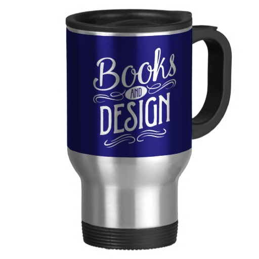 Books and Design Mug