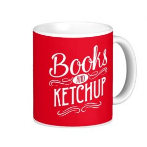 Books and Ketchup Mug