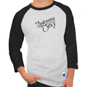 Bookworms are Sexy (men's black design)