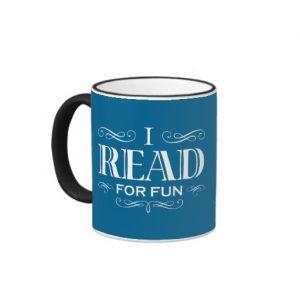 I Read For Fun Mug (white design)