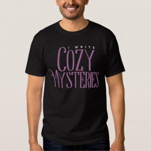 I Write Cozy Mysteries Shirt (men's)