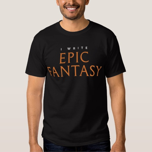 I Write Epic Fantasy Mug (men's)
