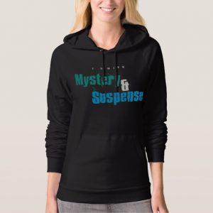 I Write Mystery & Suspense Shirt (women's)