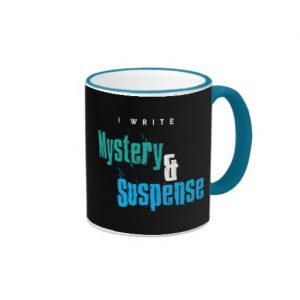 I Write Mystery & Suspense Mug