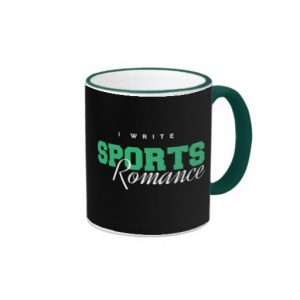 I Write Sports Romance Mug