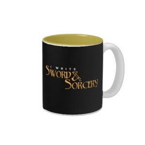 I Write Sword & Sorcery Mug