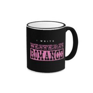 I Write Western Romance Mug