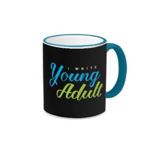 I Write Young Adult Mug
