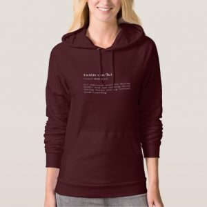 Tsundoku Definition and Pronunciation Shirt (women's white design)