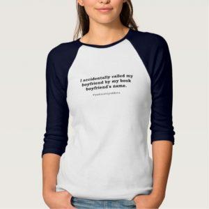 #bookwormproblems 02 Shirt (black design)