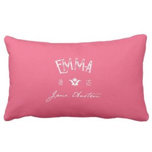 Emma by Jane Austen (1815) Pillow