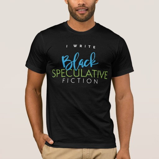 I Write Black Speculative Fiction Shirt (men's)