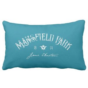 Mansfield Park by Jane Austen (1814) Pillow