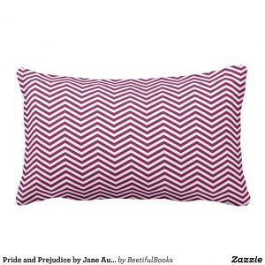 Pride and Prejudice by Jane Austen (1813) Pillow