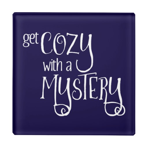 Get Cozy with a Mystery Glass Coaster (white design)