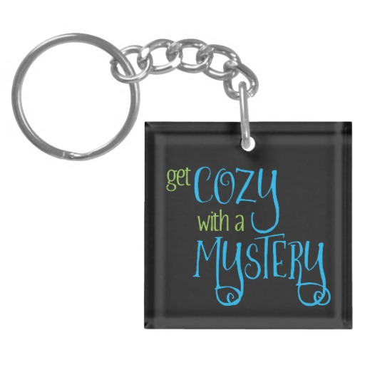 Get Cozy with a Mystery Keychain (colored design on dark)