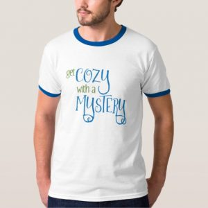 Get Cozy with a Mystery Men's Shirt (colored design on light)