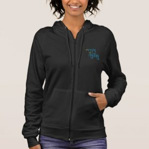 Get Cozy with a Mystery Women's Sweater (colored design on dark)
