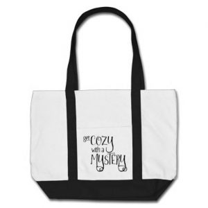 Get Cozy with a Mystery Tote Bag (black design)