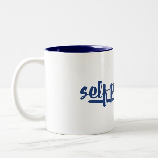 Self-published Mug (blue design)