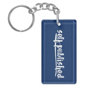 Self-published Keychain (white design)