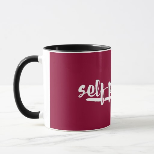 Self-published Mug (white design)