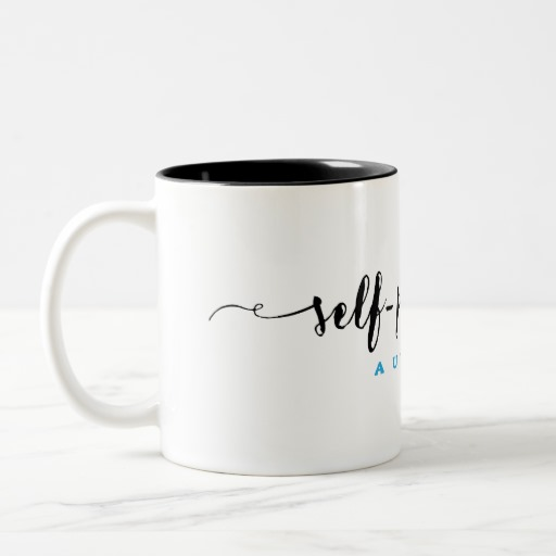 Self-Published Author Mug (black design)