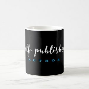 Self-Published Author Mug (white design)