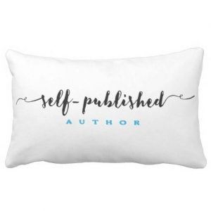 Self-published Author White Pillow