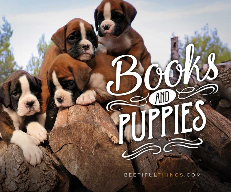 Books and Puppies