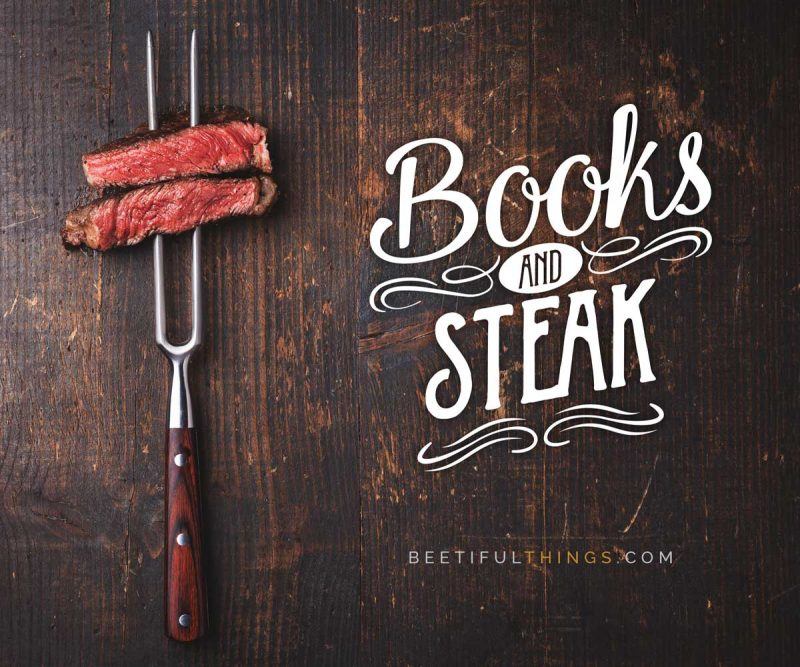 Books and Steak
