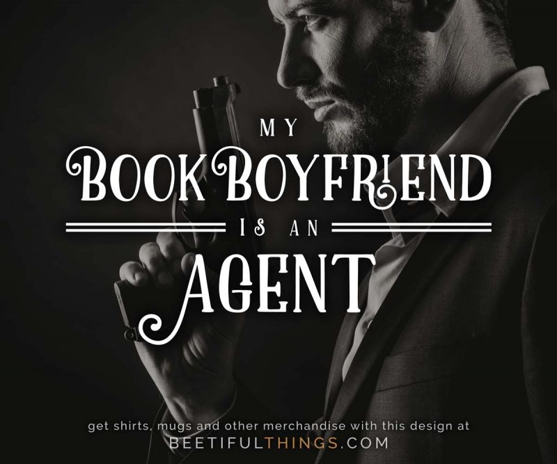 My Book Boyfriend Is An Agent