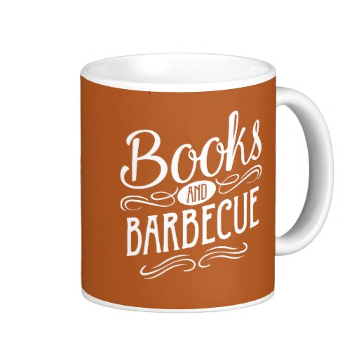 Books and Barbecue Mug