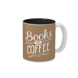 Books and Coffee Mug