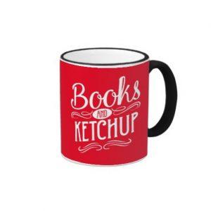 Books and Ketchup Mug