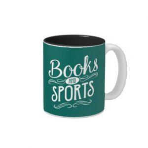 Books and Sports Mug