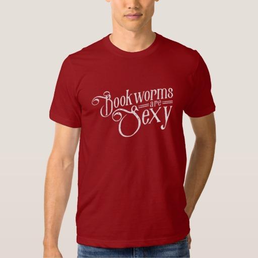 Bookworms are Sexy (men's white design)