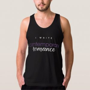 I Write Contemporary Romance Shirt (men's)