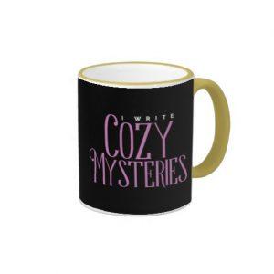 I Write Cozy Mysteries Mug