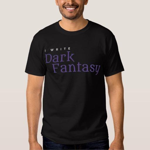 I Write Dark Fantasy Shirt (men's)