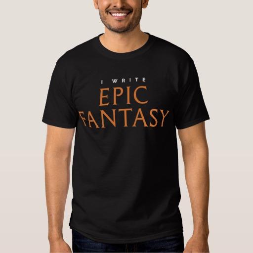 I Write Epic Fantasy Mug (men's)