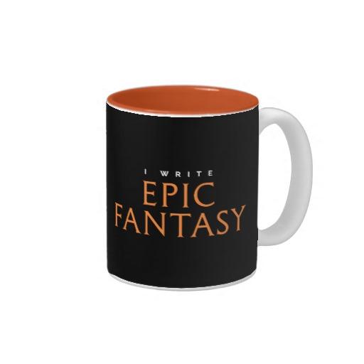 I Write Epic Fantasy Mug