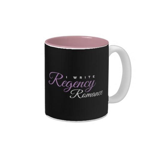 I Write Regency Romance Mug
