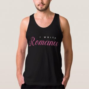 I Write Romance Shirt (men's)