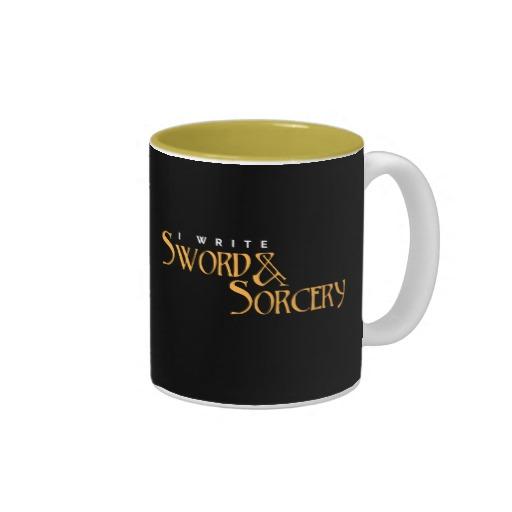 I Write Sword & Sorcery Mug